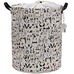 "Sea Team 19.7"" Large Size Stylish Panda Design Canvas & Line"