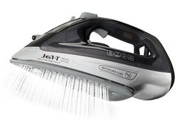T-fal, FV2640, Powerglide Steam Iron,1800 Watts, Black