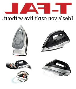 T-fal Powerglide Steam Iron 1800 Watts, Black FV2640
