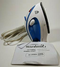 Sunbeam Travel Steam Iron Hot 2 Trot 800W Compact Non-Stick